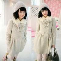 Ladies cashmere coat winter by mili on Sense of Fashion