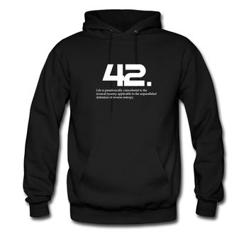 42 The hitchhiker's guide to the galaxy hoodie sweatshirt tshirt