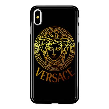 Versace Gold 001 iPhone X Case