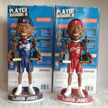 Lebron James Bobblehead Set