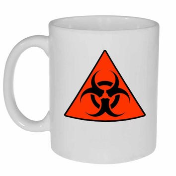Biohazard Warning Coffee or Tea Mug