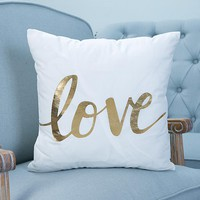 Love Pillow Case Cover - Home Decorations