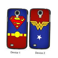 Superhero Couples Phone Cases for Samsung Galaxy Cases
