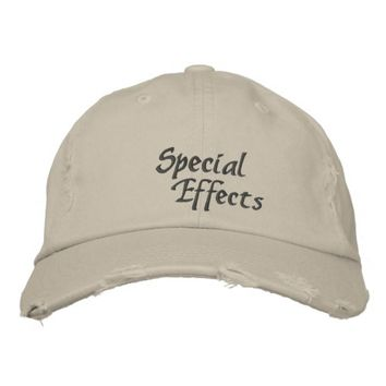 Special Effects Custom Embroidered Hat
