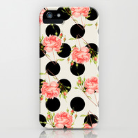 MIXED FLORAL iPhone & iPod Case by Allyson Johnson