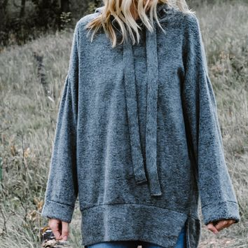 Fuzzy Details Pullover
