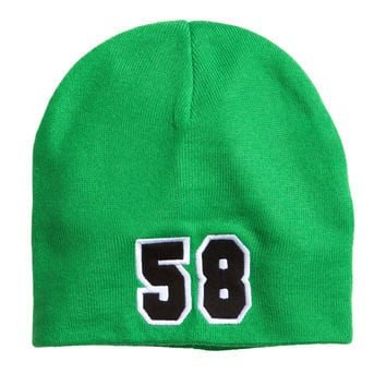 H&M - Knit Hat - Green - Kids