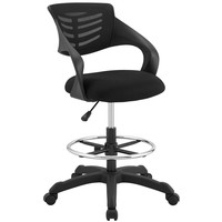 Thrive Breathable Mesh Back With Lumbar Drafting Chair