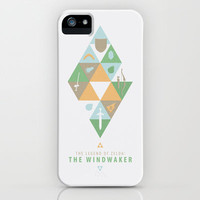 The Legend of Zelda: The Windwaker iPhone & iPod Case by ahutchabove