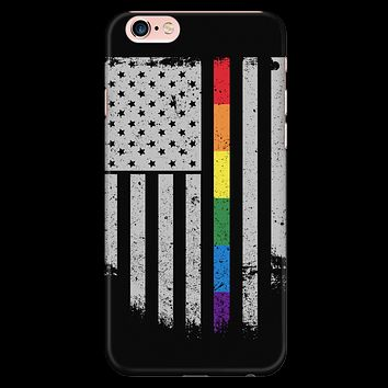 LGBT - LGBT Thin Line - Iphone Phone Case - TL01211PC