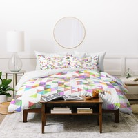 Fimbis Technicolour Raindrops Duvet Cover