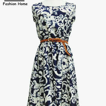 Women New Print Dress