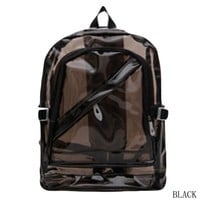 Clear Backpacks popular Fashion Waterproof For Teenage Space Backpack Shoulders Bag PVC School Bags Transparent Backpack Clear Plastic AT_62_4