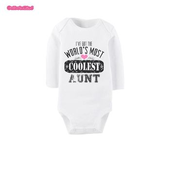 Culbutomind Baby Uncle Boy Clothes Newborn Girl Boy Baby Clothes Cute 100% Cotton Short Sleeve Baby Rompers Baby Shower Gift