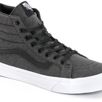 Vans Sk8 Hi Slim Herringbone Tweed Shoes (Womens)
