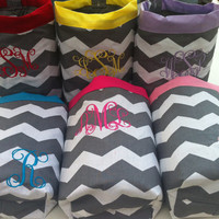 Cutest car trash bag ever. Custom made in any color or print