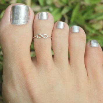 Beach Holiday Infinite Toe Rings Tail Ring Gift-220