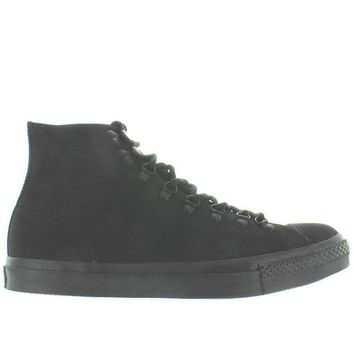 DCCKHD9 Converse All-Star Chuck Taylor Mono Hiker Hi - Black/Black Canvas High-Top Sneaker