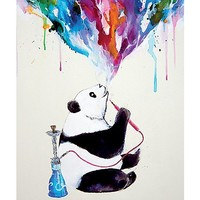 Smoking Panda Poster - Spencer's