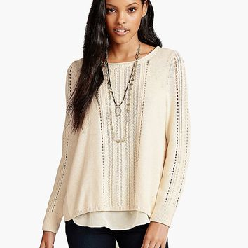 Lucky Brand Metallic Mix Womens