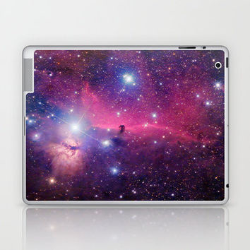Purple Galaxy Laptop & iPad Skin by rapplatt