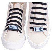 Lace Locks® Marvel THOR Letters Shoe Clips - Blue... : Target