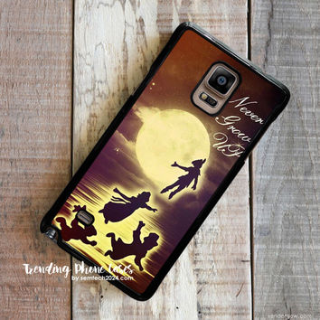Peterpan Never Grow Up Samsung Galaxy Note 4 Case Cover for Note 3 Note 2 Case