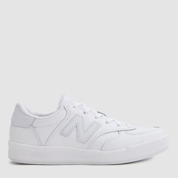 New Balance / 300 Leather in White