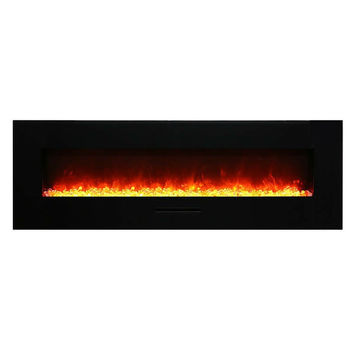 "Amantii 70"" Built-in / Wall Mounted Electric Fireplace (WM-FM-60-7023-BG)"