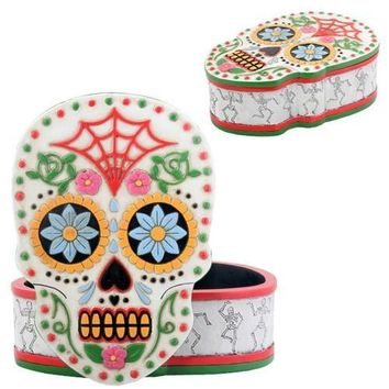 Skull Theme Box, Day of the Dead