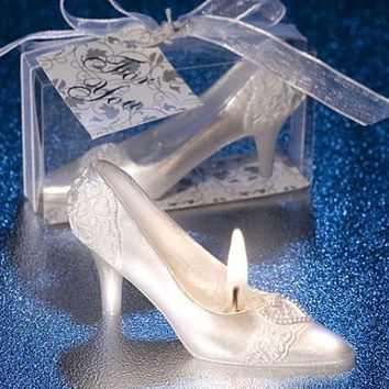 High Heels Candle Creative Birthday Candle Wedding Candles Gift Baby Shower Souvenirs Favor Party Gift Wedding Favors And Gifts