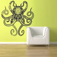 Wall Decal Vinyl Sticker Decals Octopus Sprut Tentacles Kraken  z1452