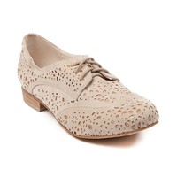 Womens Not Rated Clear Lakes Flats, Cream, at Journeys Shoes