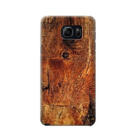 P1140 Wood Skin Graphic Phone Case For Samsung Galaxy S6 edge plus