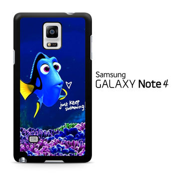 Just Keep Swimming Dory Samsung Galaxy Note 4 Case