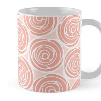 'Say it with roses' Mug by juliagrifol