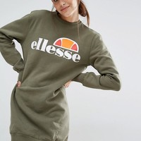 Ellesse | Ellesse Sweat Dress With Front Logo at ASOS