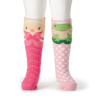 Princess & Frog Knee Socks