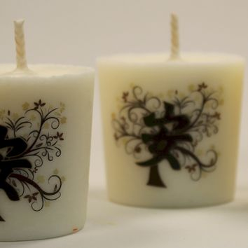 Zen Scented Soy Wax Votive Candles, Tranquility Votives