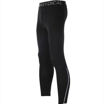 Bodybuilding Long Pants Trousers Compression Tights