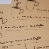 All Occasion Coffee Mug Quick Note Card Set of Eight