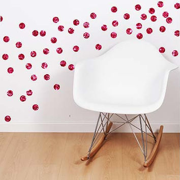Polka Dot 6 Vinyl Wall Decal Sticker