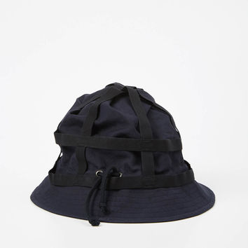Totokaelo - Dries Van Noten Navy Glendale Hat - $185.00