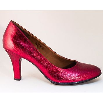 Select Your Color of Glitter 3 Inch Heel Shoes