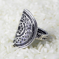 ETERNITY RING Miao Hmong ethnic tribal bohemian jewelry collection