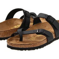 Beauty Ticks Birkenstock Mayari Sandals Black Biko-flor