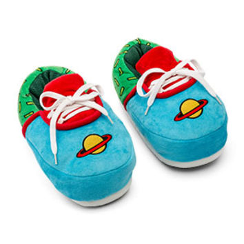 Rugrats Chuckie Plush Sneaker Slippers