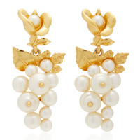 Baroque Pearl Earrings | Moda Operandi