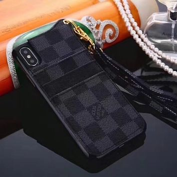 LV Louis Vuitton Fashion iPhone Phone Cover Case For iphone 6 6s 6plus 6s-plus 7 7plus 8 8plus iphone X