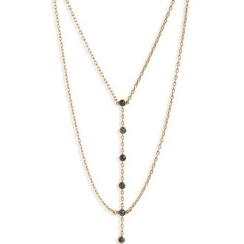 Madewell Nuit Layered Lariat Necklace | Nordstrom